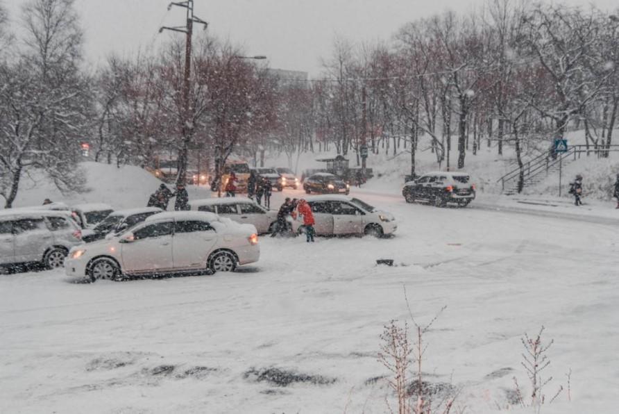 Фото Артем Халупный | В ГИБДД рассказали о ситуации на дорогах Владивостока