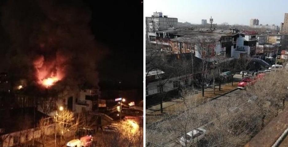 Стала известна предварительная причина пожара в ТЦ «БУМ»