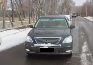 Водитель Lexus в Приморье забыл, что такое педаль тормоза