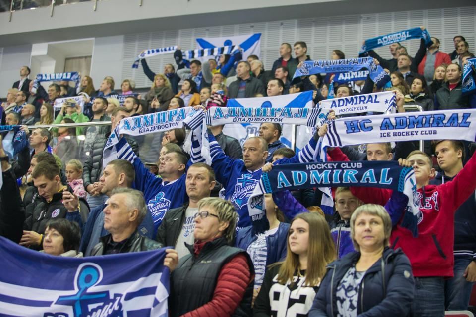 Владивостокский «Адмирал» проиграл ярославскому «Локомотиву»