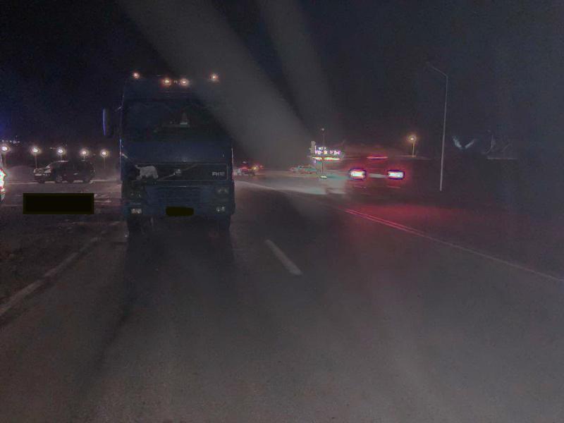 На трассе Хабаровск – Владивосток большегруз насмерть сбил женщину