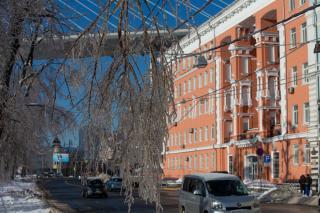 Фото: Татьяна Меель / PRIMPRESS   Движение в одну сторону по Золотому мосту будет закрыто с 15:00 до 18:00