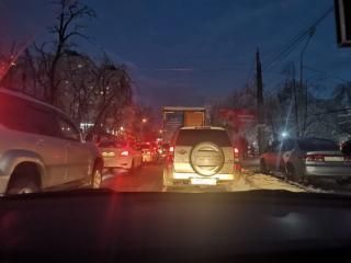 Фото: PRIMPRESS   «До дома не доехать»: рекордные для этого года пробки сковали столицу Дальнего Востока