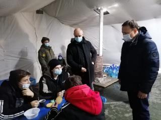 Фото: «Единая Россия»   «Единая Россия» помогает пострадавшим от коммунальной катастрофы