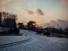 Фото: Илья Евстегнеев | Во Владивосток пришла зима