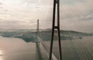Мировые СМИ исследуют вопрос обледенения вантовых мостов