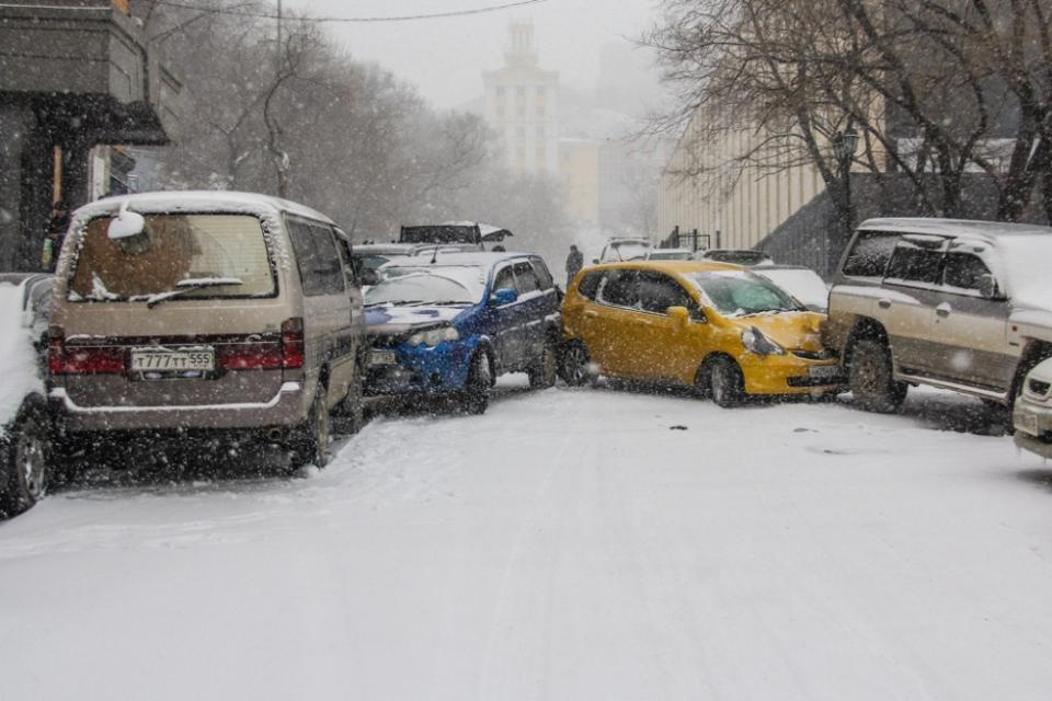 Пять самых необычных погодных явлений во Владивостоке
