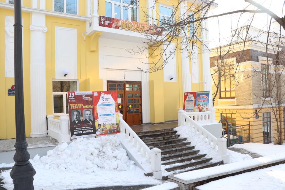 Приморский краевой театр кукол приглашает на новогодние спектакли
