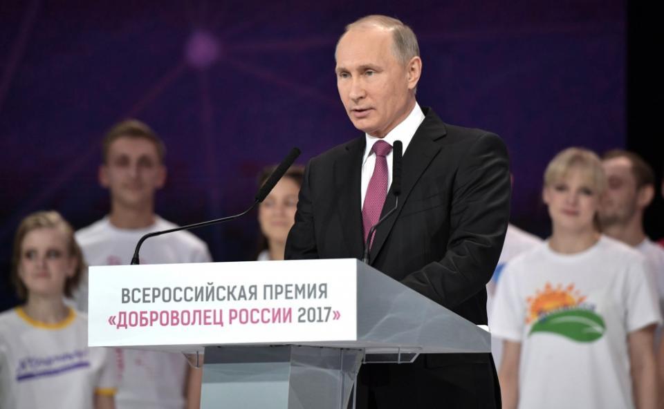 В Российской Федерации 2018-й будет Годом волонтера