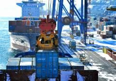ВМТП в два раза сократил время перевалки грузов на Камчатку