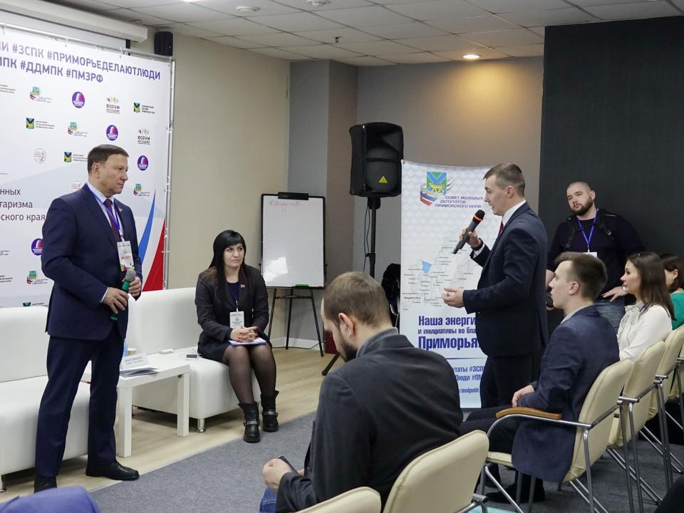 Спикер приморского парламента пообещал голосовать за Путина