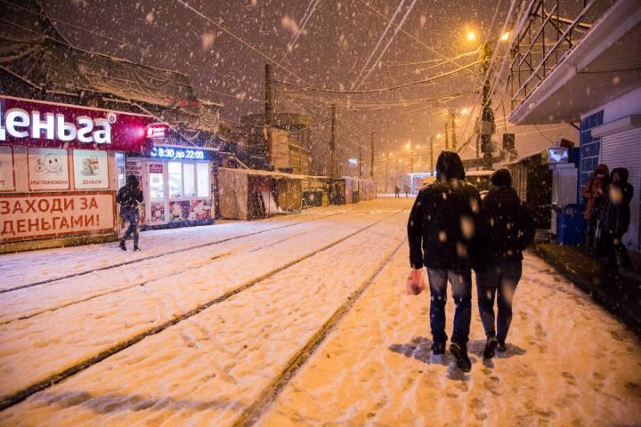 За выходные в Приморье выпало до 32 мм снега
