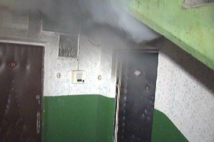 Ночью изгорящего жилого дома спасли неменее 20 человек