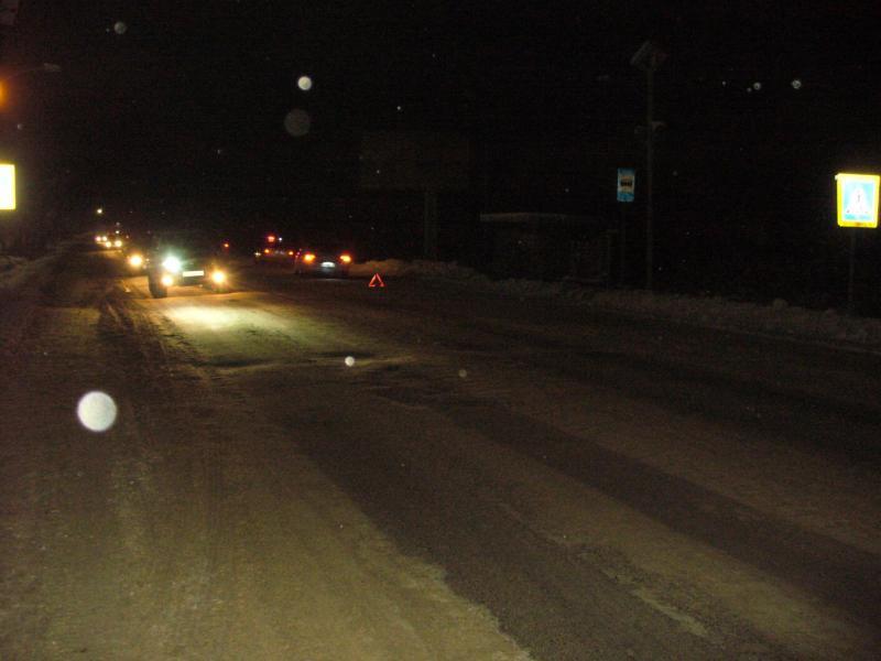 На неосвещенном переходе вечером в Арсеньеве сбили девочку
