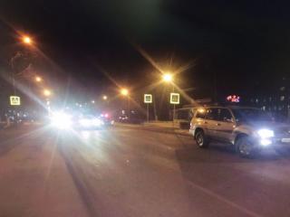 Land Cruiser сбил школьника на пешеходном переходе в Артеме