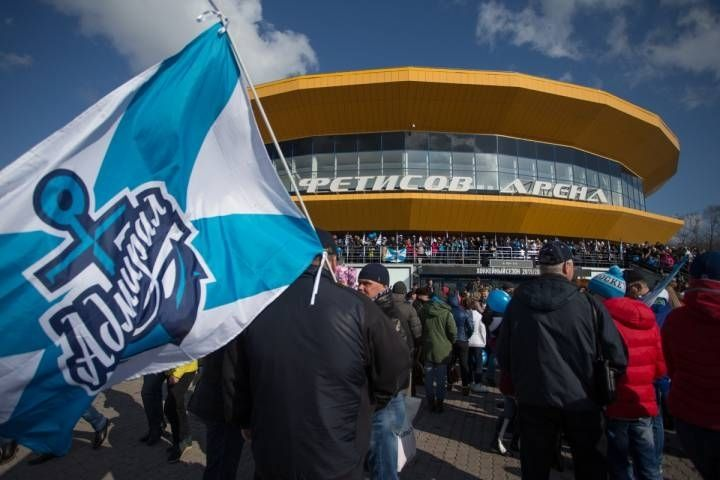 «Адмирал» прервал 4-матчевую серию поражений вКХЛ, дома обыграв «Нефтехимик»