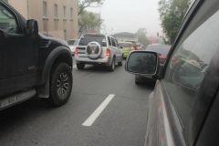 Фото: PRIMPRESS | Житель Приморья перекрыл дорогу в знак протеста