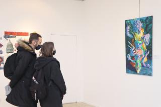Фото: Екатерина Дымова / PRIMPRESS   «Игровое/неигровое»: во Владивостоке открылась персональная выставка Василия Галактионова