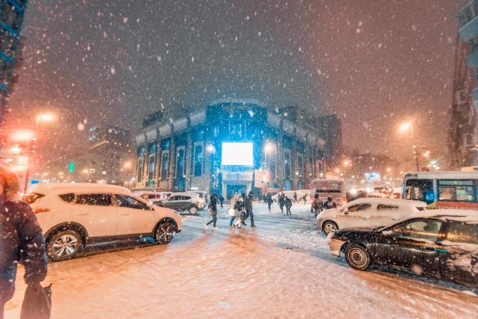 Вновогоднюю ночь Приморье засыплет снегом— синоптики