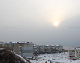 Фото: Филипп Романов | В Приморье было зафиксировано последнее солнечное затмение года (видео)
