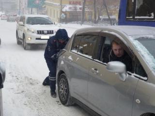 ГИБДД просит приморцев быть осторожными на дорогах в новогоднюю ночь