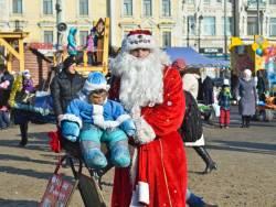 Фото:  | На центральной площади Владивостока прошли рождественские гулянья
