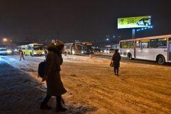 Фото:  | В первый рабочий день нового года жители Владивостока встали в пробки