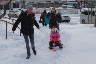 Фото: Татьяна Меель, Анна Шеринберг | Снег – подарок жителям Владивостока на 8 Марта