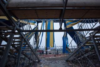 Фото: Татьяна Меель | Горы мусора, мародеры и бездомные: что стало с цирком шапито во Владивостоке