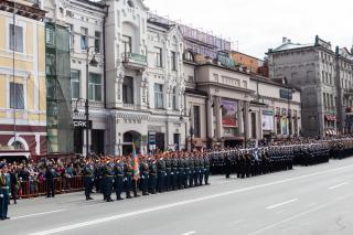 Фото: Екатерина Борисова | «Бессмертный полк» и владивостокский парад Победы в объективе PRIMPRESS