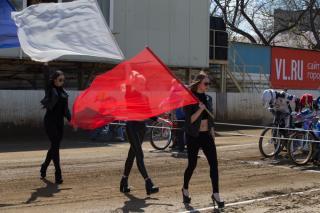 Фото: Татьяна Меель | Владивостокская команда по спидвею «Восток» начала сезон с победы