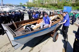 Фото: Евгений Кроликов  | Во Владивостоке стартовала гребно-парусная регата