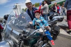 Фото: Татьяна Меель | Владивостокские байкеры отпраздновали День России