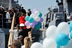 Фото: Семен Апасов | Корабли Тихоокеанского флота вернулись во Владивосток из дальнего похода
