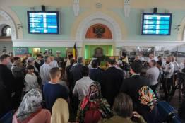Фото: Семен Апасов | Во Владивостоке торжественно открыли барельеф Николая II