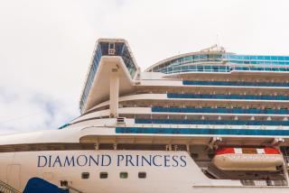 Фото: Артем Халупный   Суперлайнер Diamond Princess посетил во Владивосток
