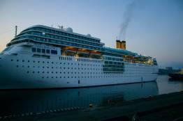 Фото: Семен Апасов | Владивосток посетил круизный лайнер Costa NeoRomantica