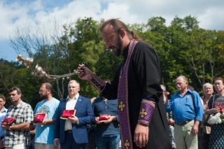 Фото: Семен Апасов   Во Владивостоке простились с экс-мэром