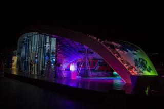 Фото: Анна Шеринберг | «Улица Дальнего Востока» на набережной ДВФУ готова к открытию