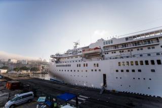 Фото: Екатерина Борисова | Впервые в этом году во Владивосток прибыл круизный лайнер Pacific Venus