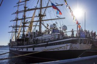 Фото: Анна Шеринберг | Международная регата учебных парусников стартовала в Приморье