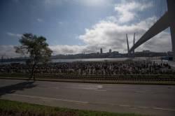 Фото:    Байкеры Владивостока закрыли сезон на набережной Цесаревича