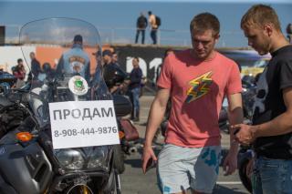 Фото: Татьяна Меель | Во Владивостоке состоялось закрытие байкерского сезона