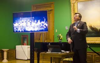 Фото: Эльмира Маммедова | Второй сезон «Музыкального вернисажа» знакомит всех желающих с музыкой и живописью XVIII века