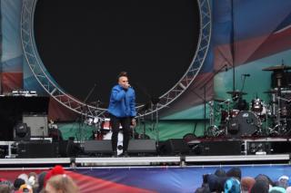 Фото: Екатерина Дымова | «Мумий Тролль» и «Марлины» поздравили жителей и гостей Владивостока с Днем народного единства
