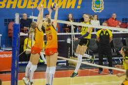 Фото:    ВК «Приморочка» одержала победу в матче с ВК «Липецк-Индезит»