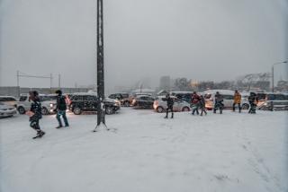 Фото: Артем Халупный | «Снежный апокалипсис» накрыл Владивосток